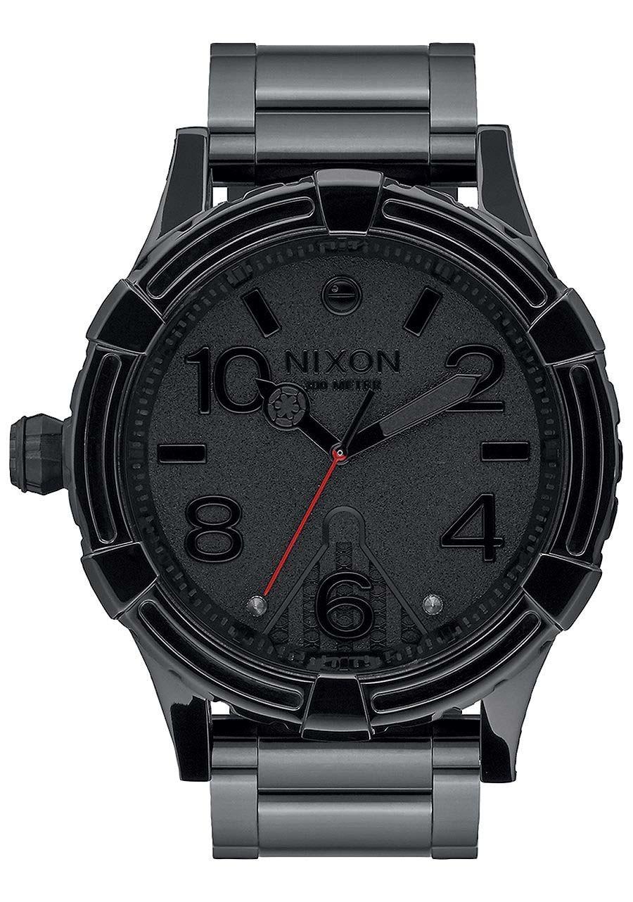 czarny zegarek męski nixon