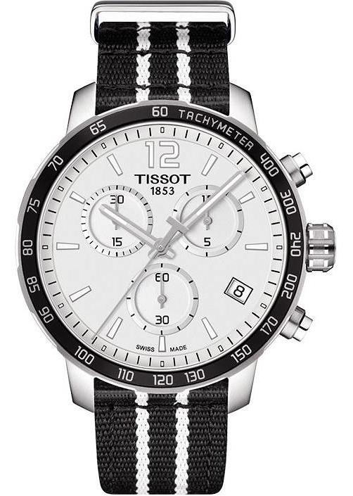 czarny zegarek tissot