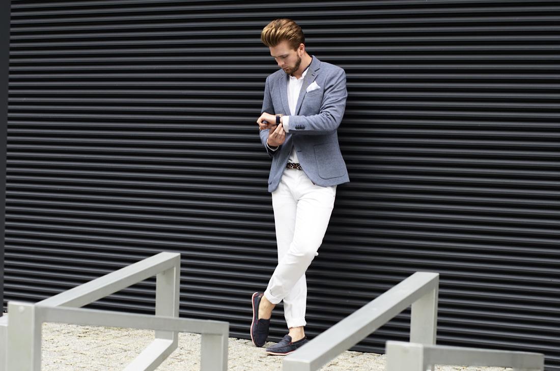 Jak nosić białe spodnie? | Porady daje Blog Podlinski
