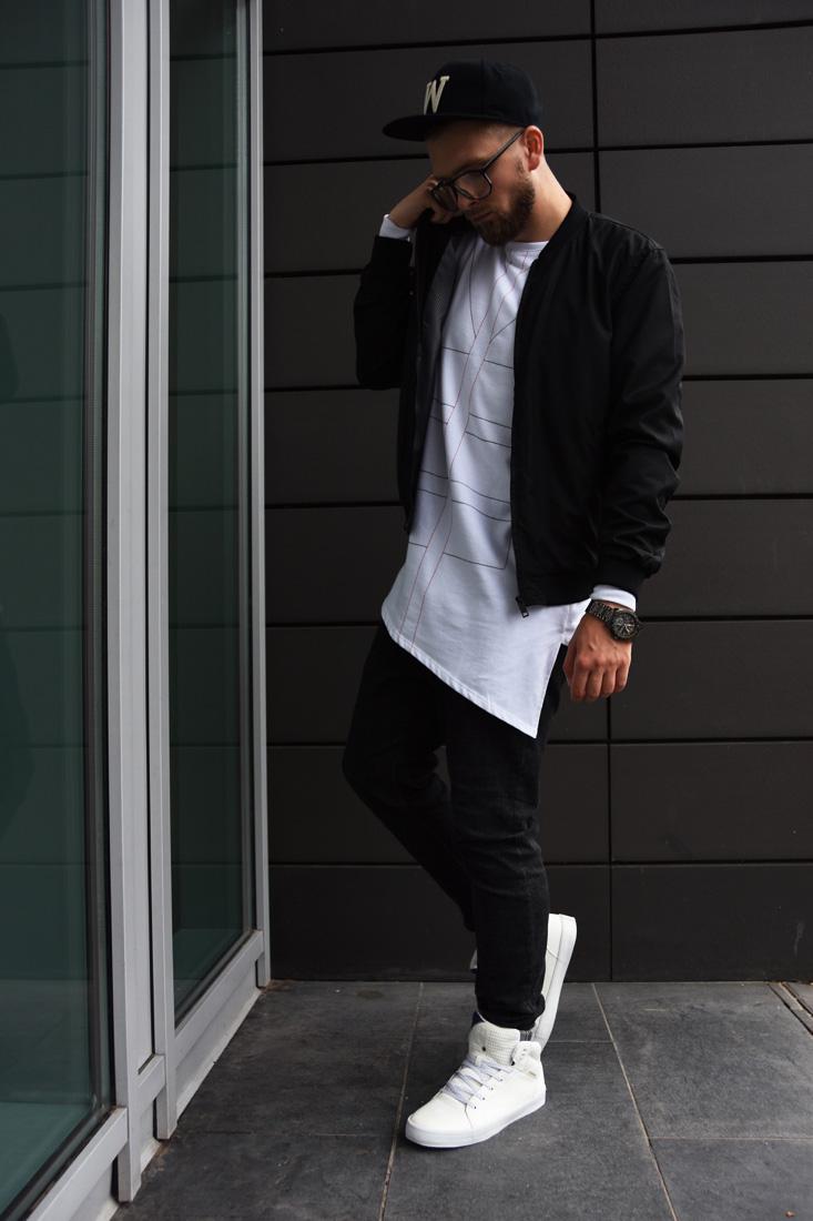 miejski styl facet