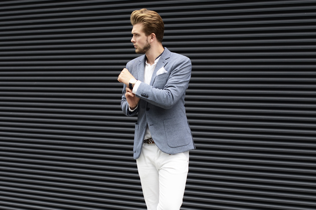podlinski stylizacja biale spodnie