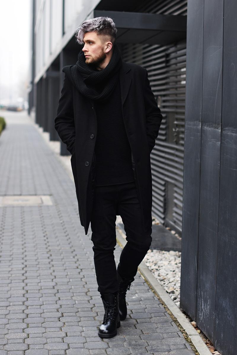 man-in-black-grey-hair