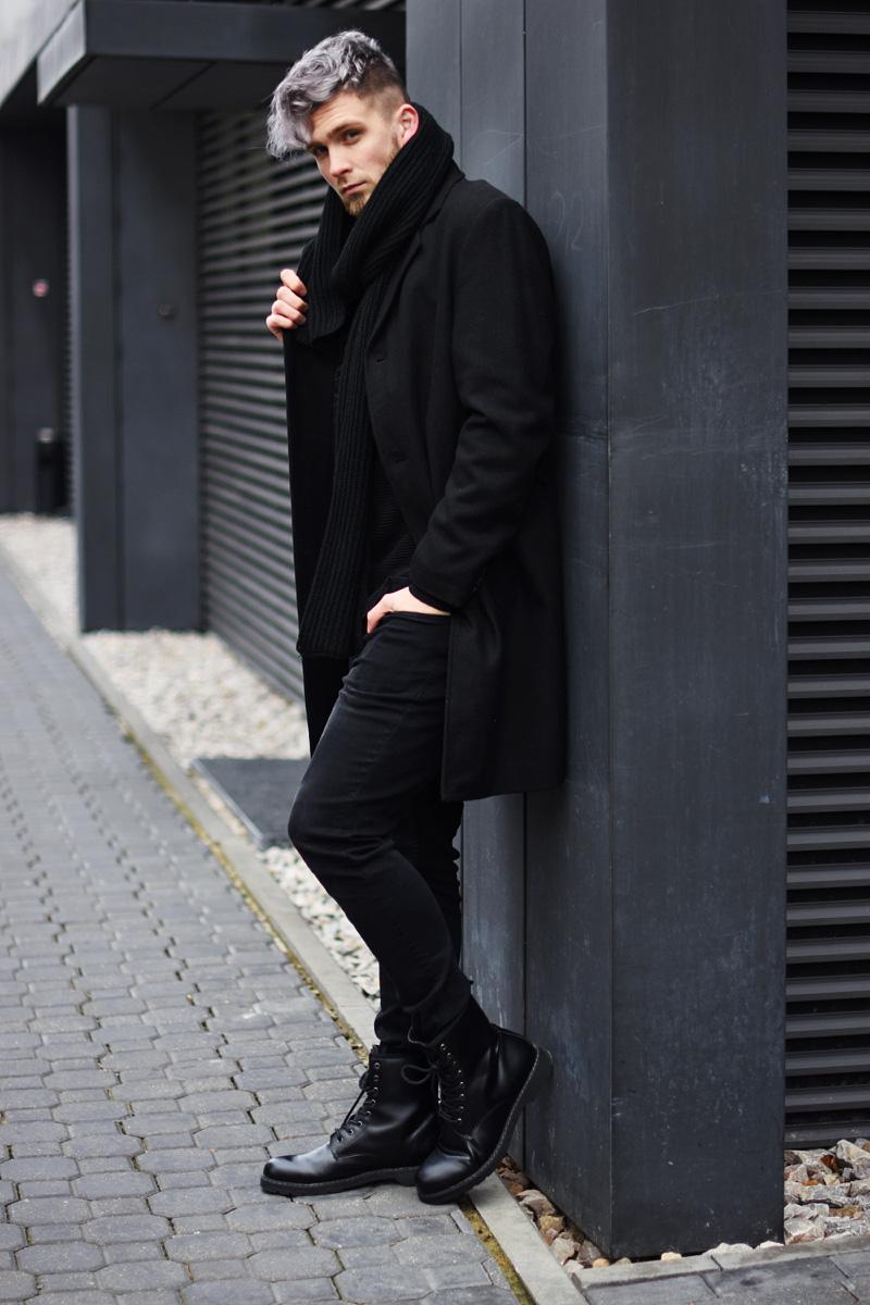 meska-stylizacja-czarna-na-zime