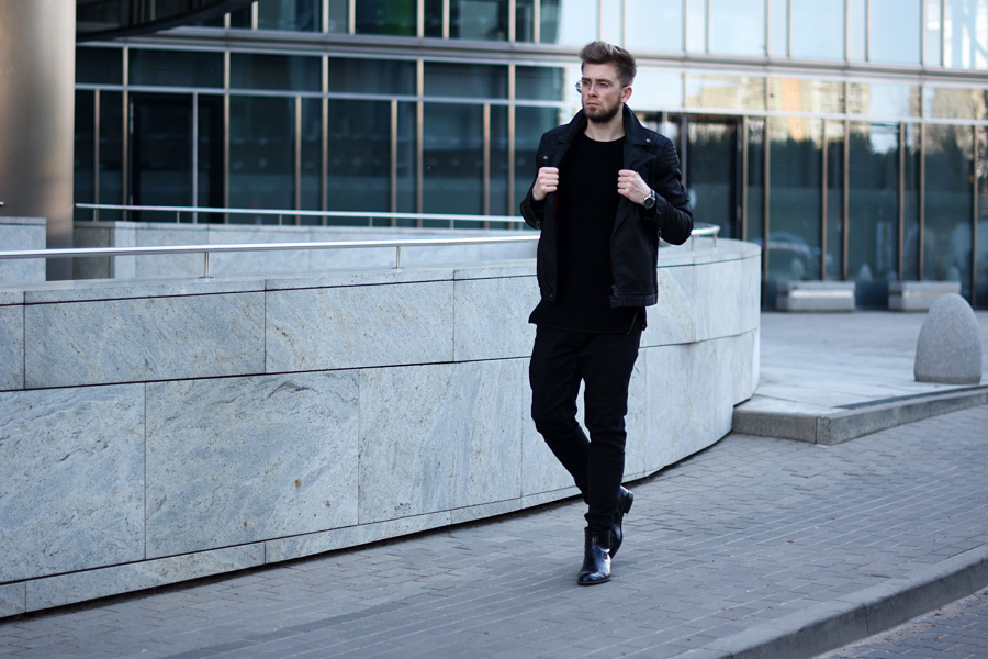 all black menstyle
