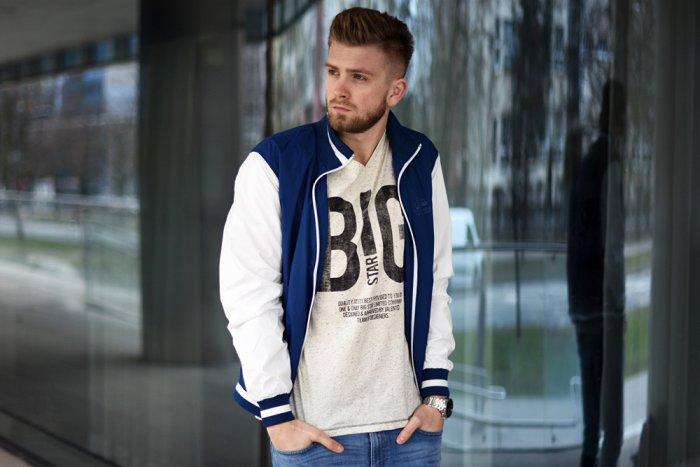 Męskie jeansy – BIG STAR denim