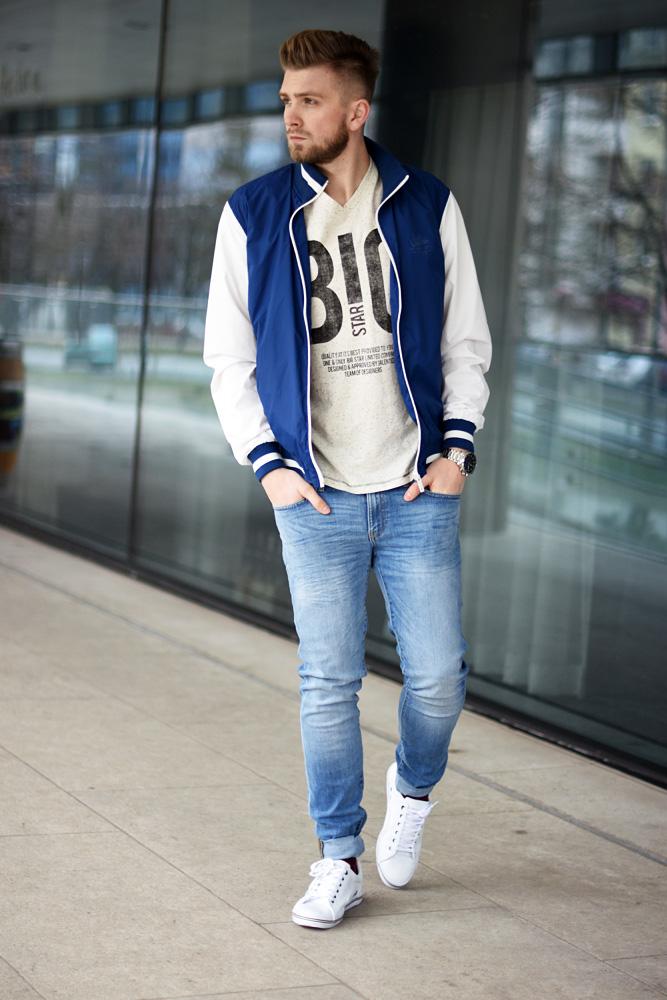 stylizacja meska na wiosne jeans