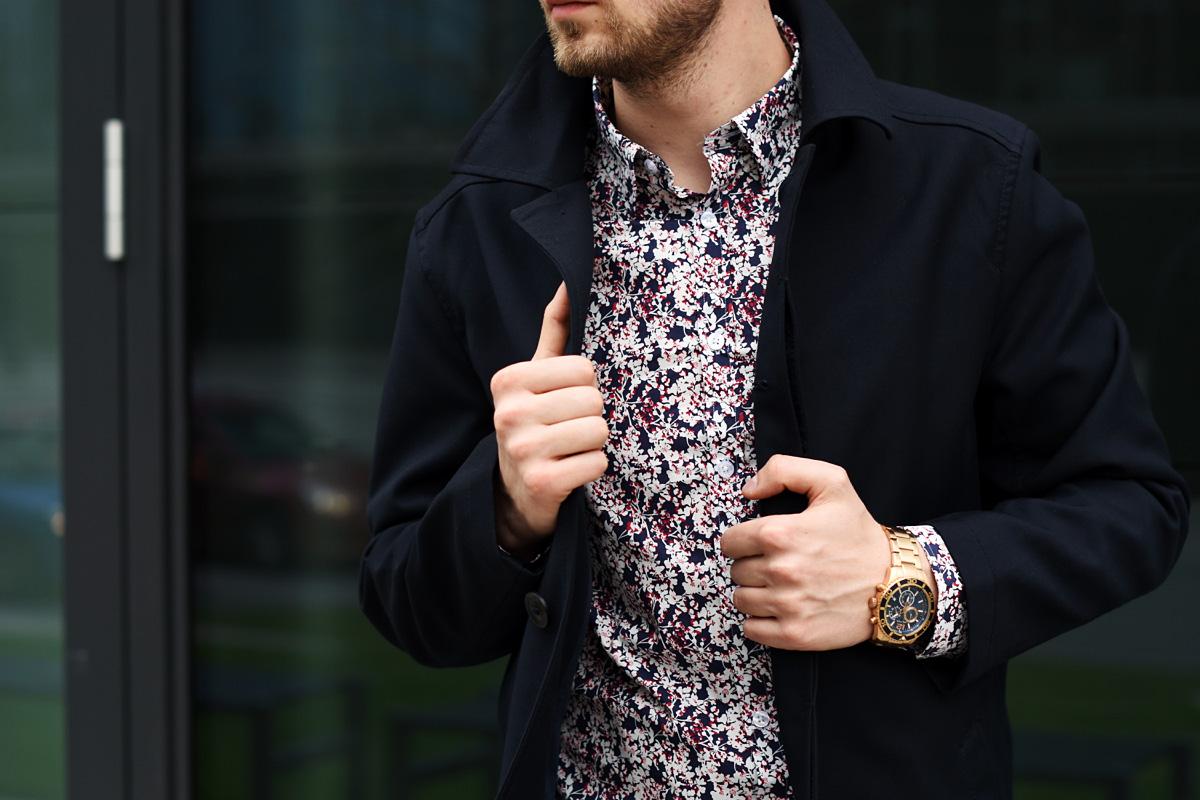 koszula wolczanka w kwiaty