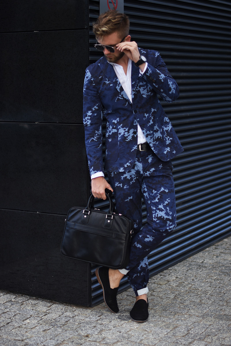 garnitur vistula stylizacja elegancka meska