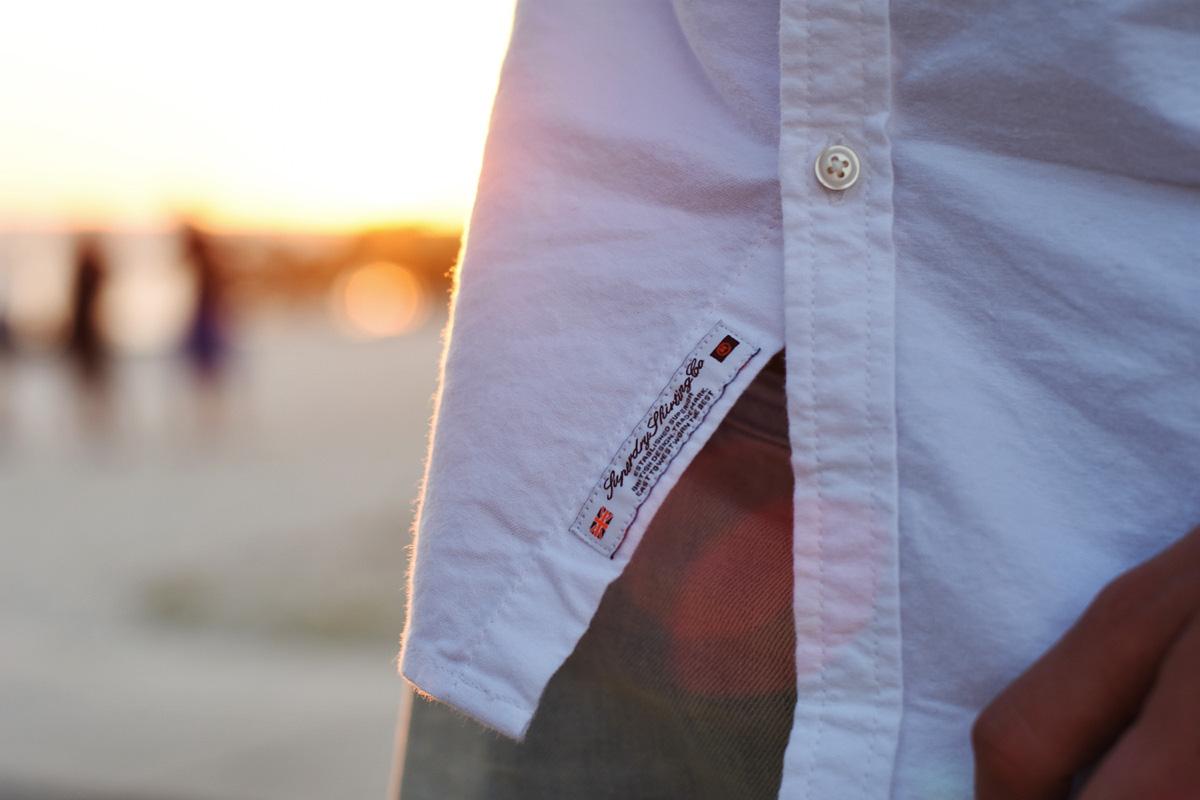 koszula superdry meska stylizacja
