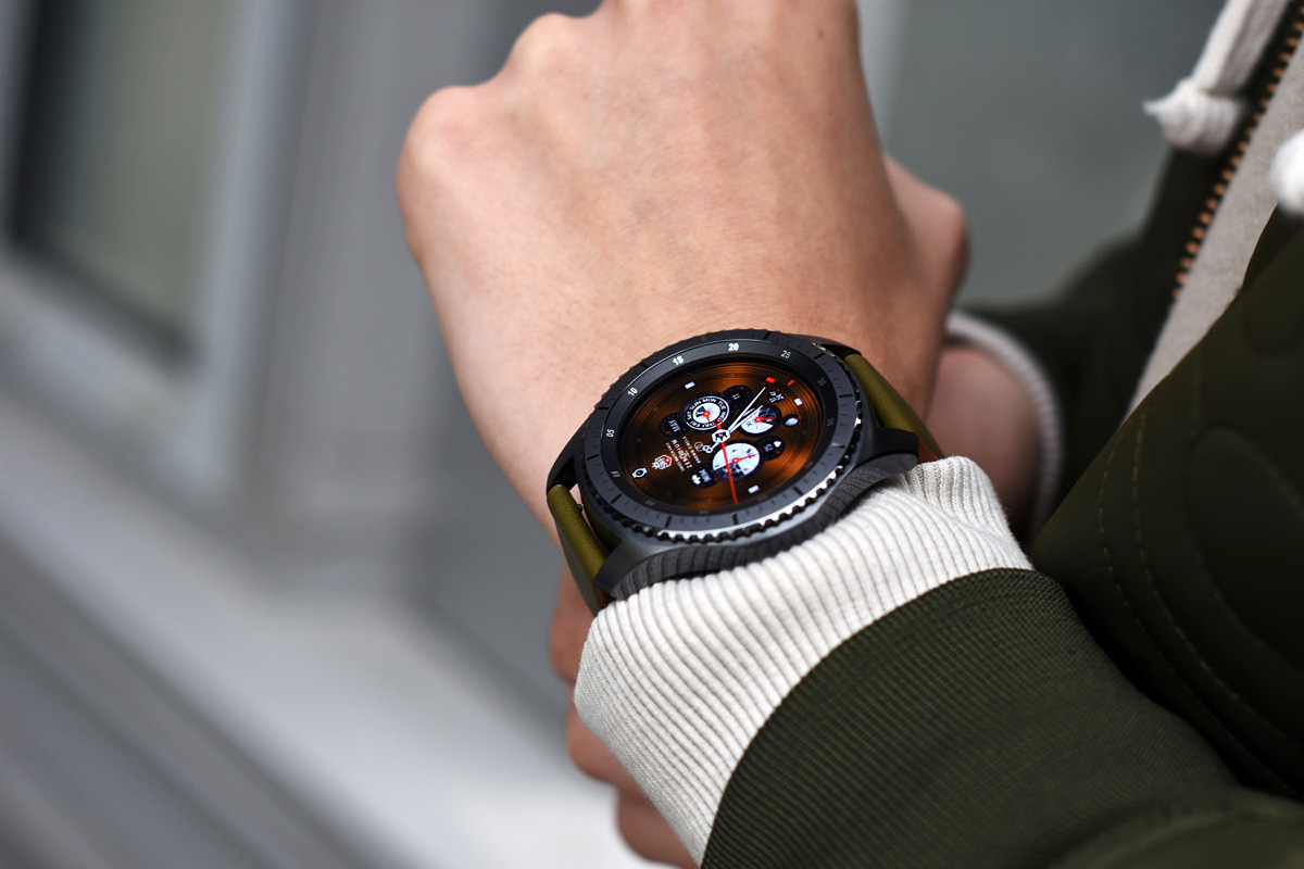 zegarek samsung galaxy gear watch s3