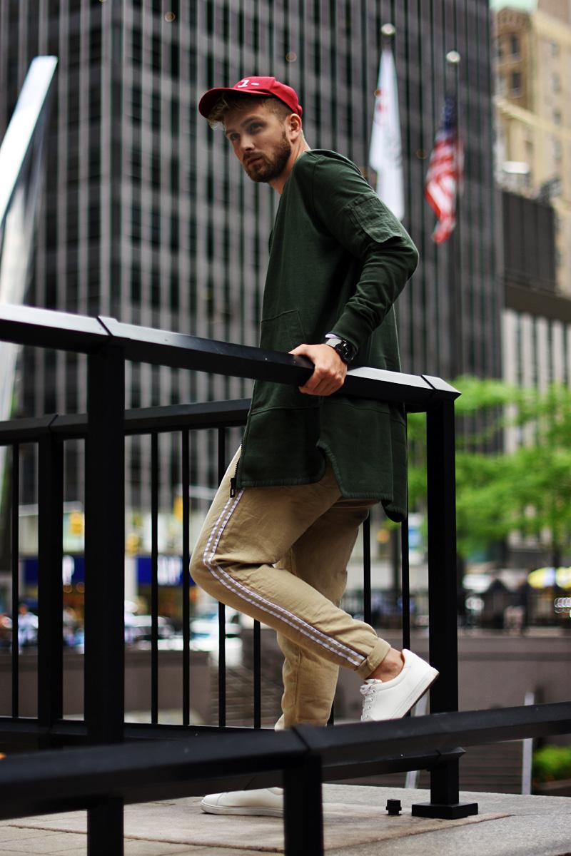 spodnie lniane streetwear jak nosic reserved