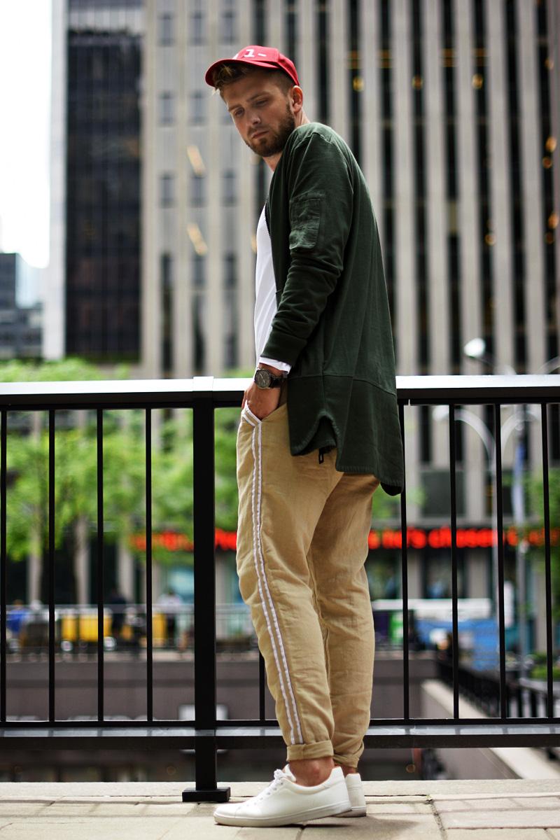 stonowanay zestaw dla faceta streetwear podlinski