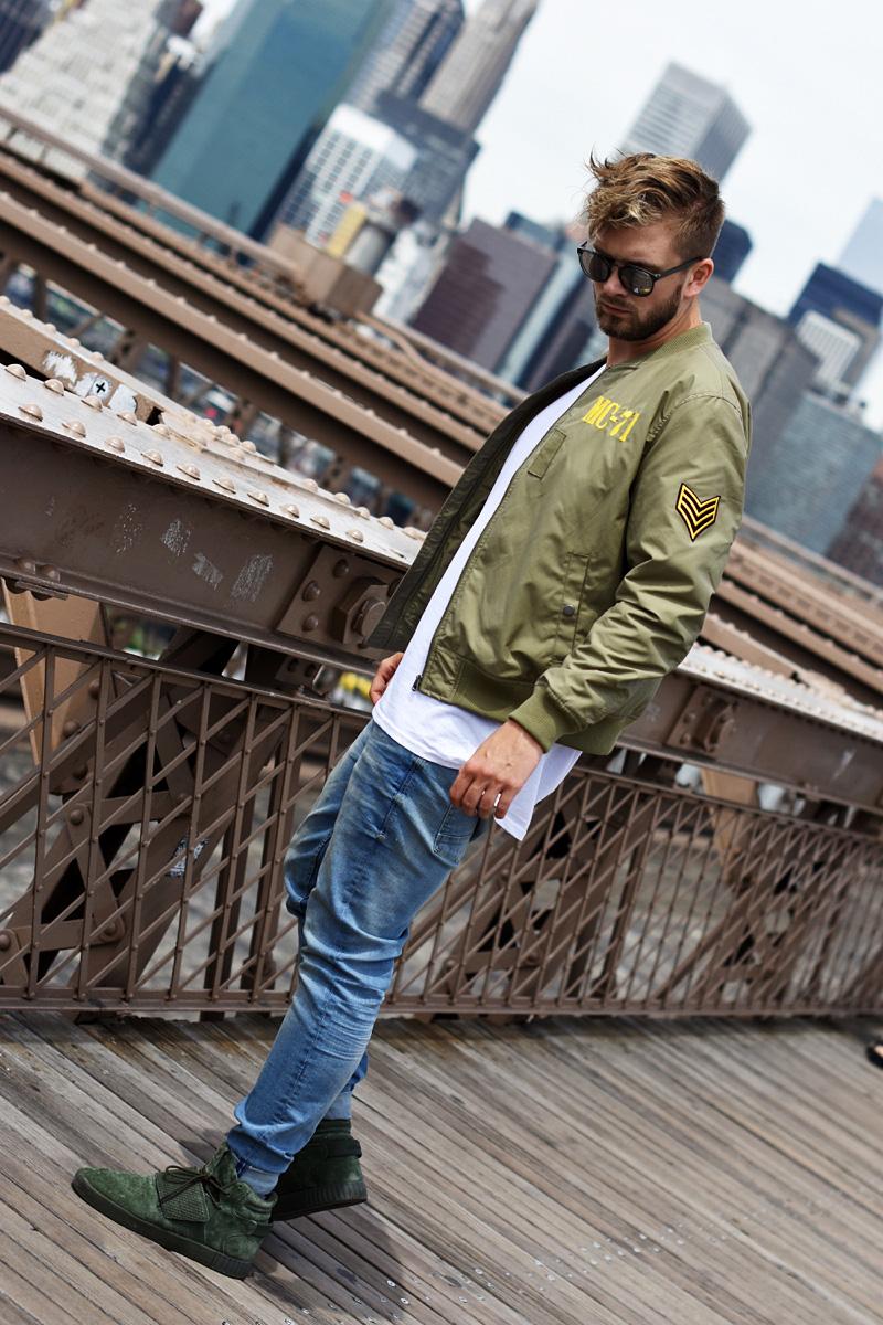 stylizacja streetwer streetstyle menswear podlinski brooklin bridge