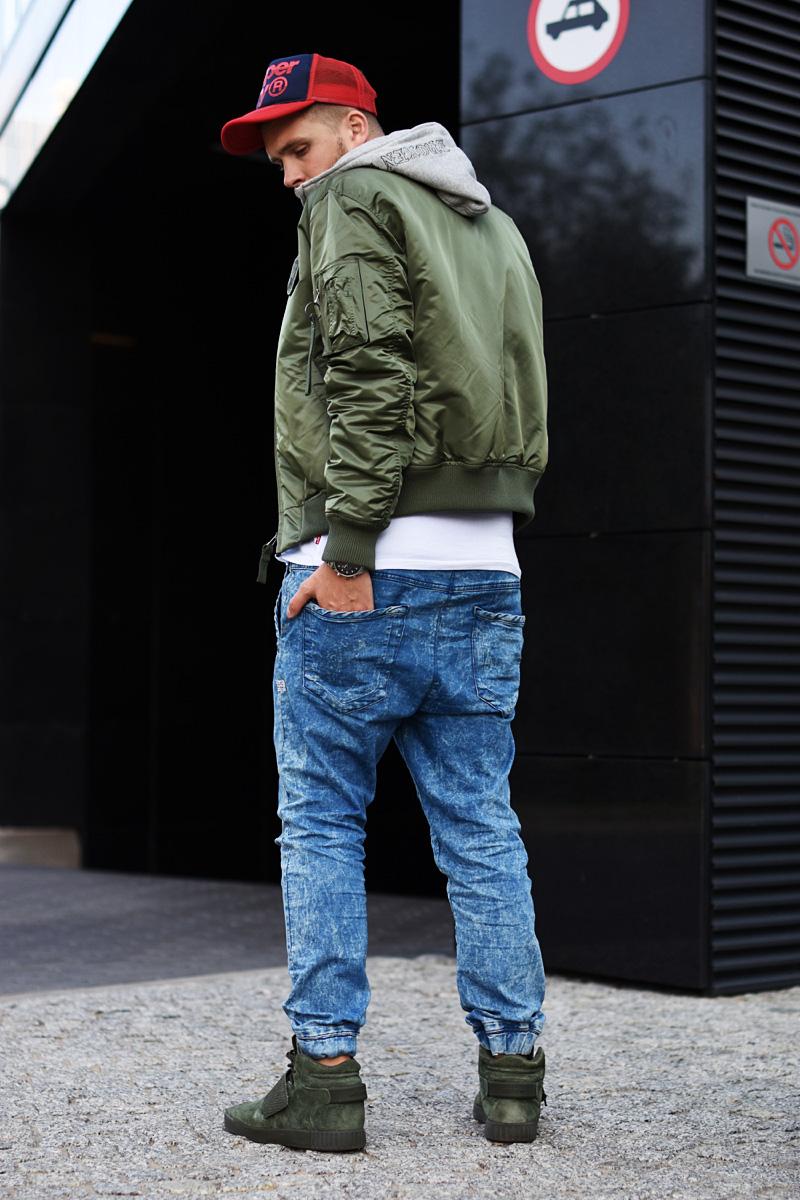 meska stylizacja podlinski jesien khaki