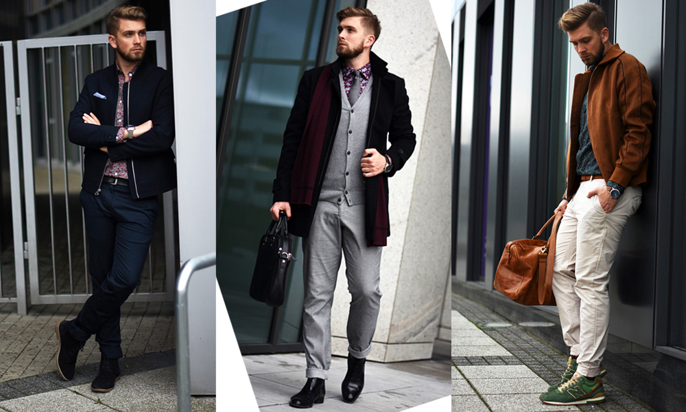 e17065e3762aa5 Tegoroczna jesień/zima będzie bardzo interesująca, pod względem wzorów oraz  kolorystyki, która będzie panować wśród męskiej elegancji i nie tylko.