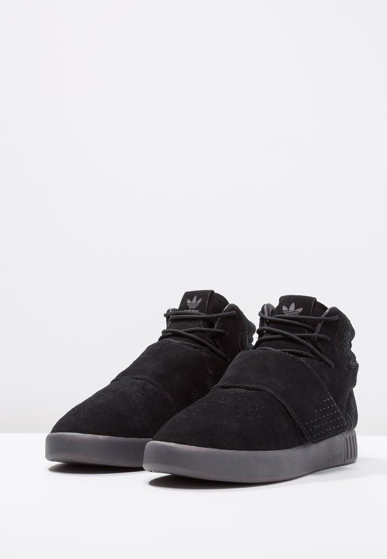 buty męskie czarne adidas tubular invader