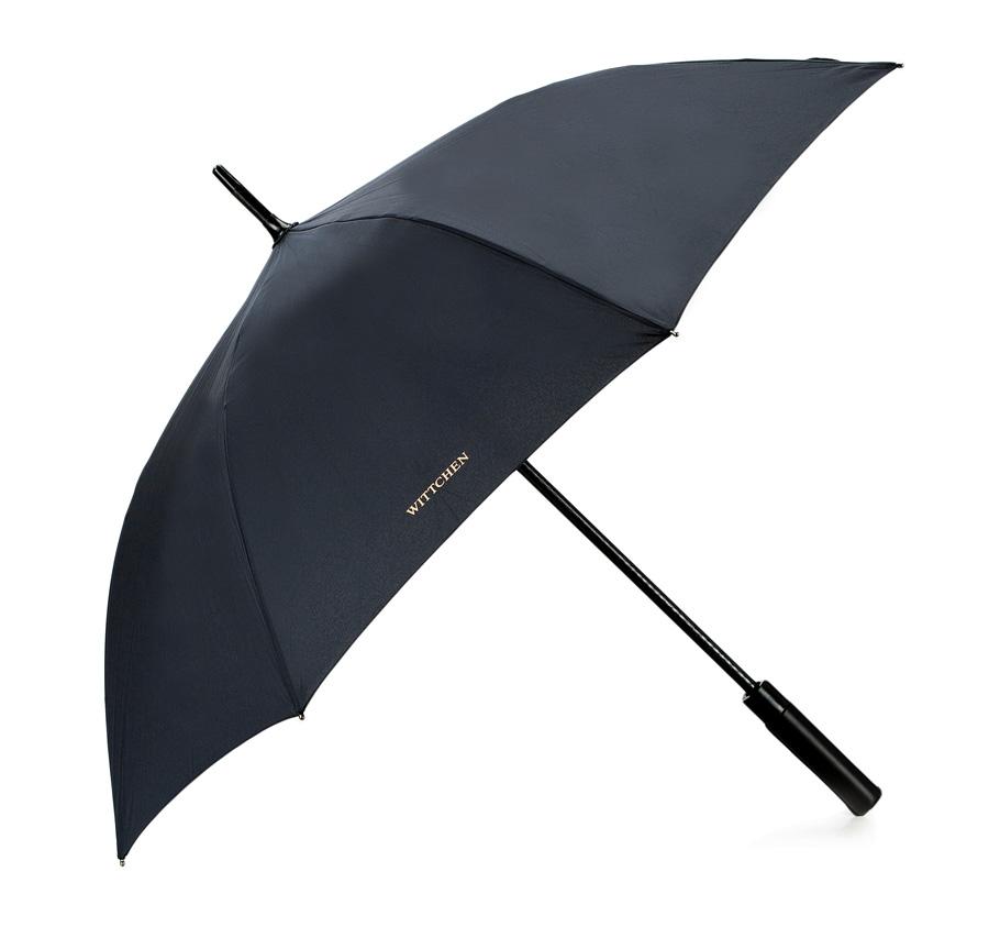 czarny parasol męski