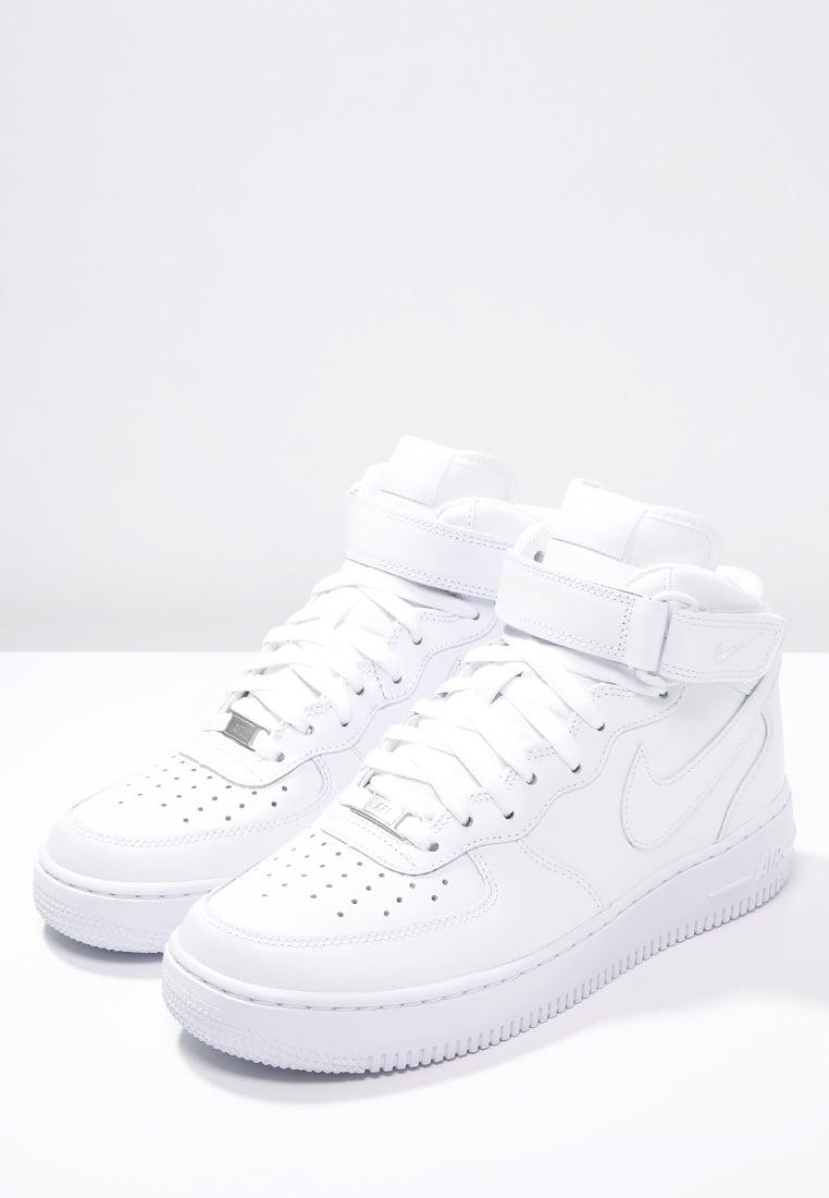 męskie buty białe nike air force 1