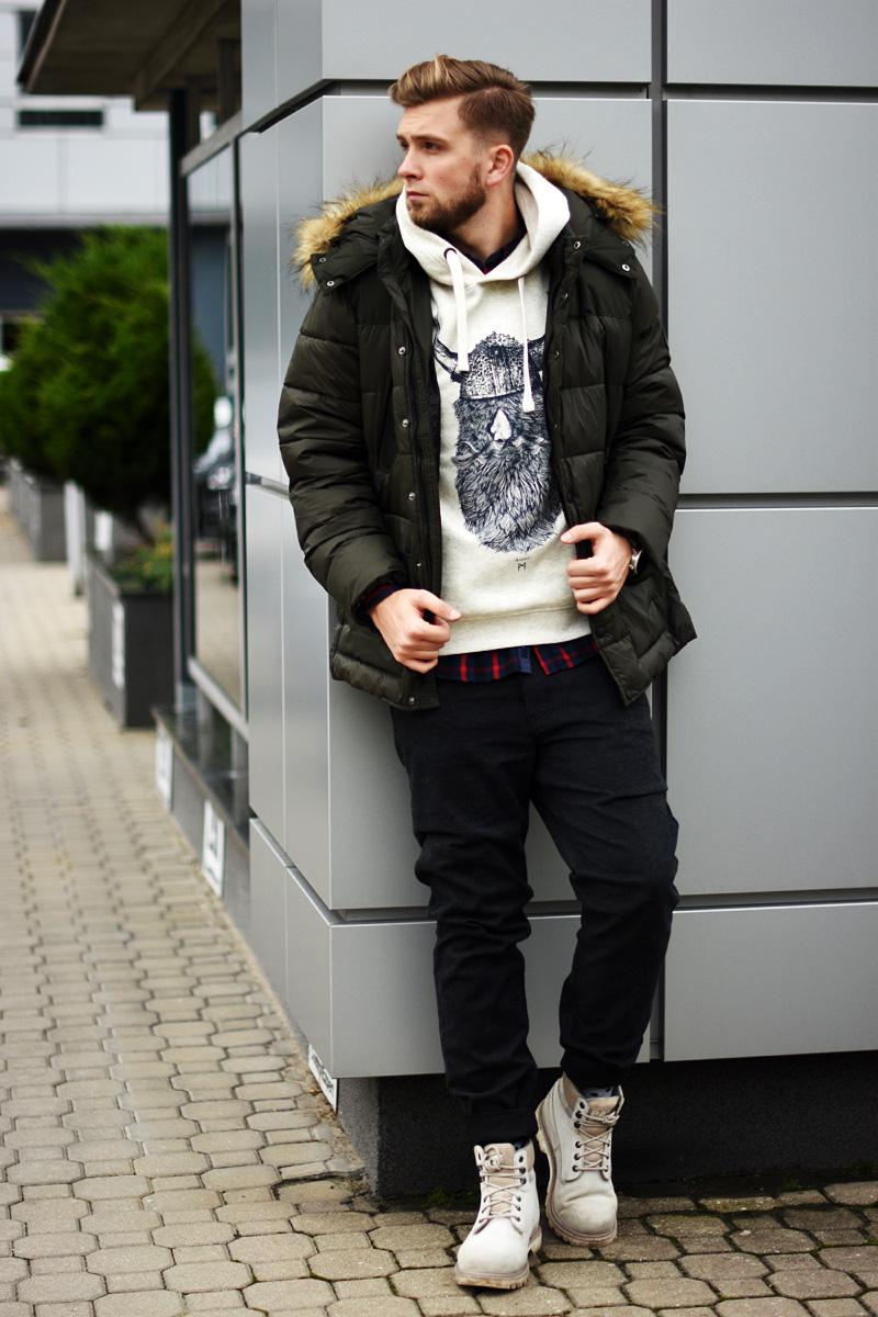 meska stylizacja carry total look zima