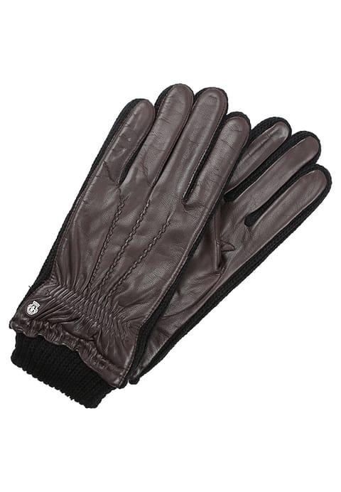 rękawiczki męskie brązowe roecki