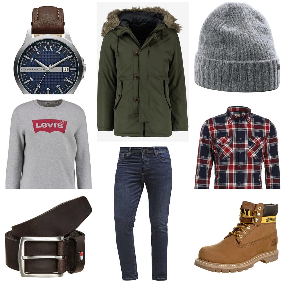 stylizacja na zime dla faceta