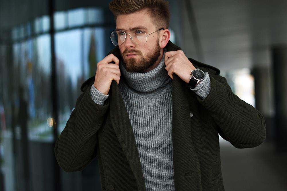 stylizacja na jesien zime dla faceta