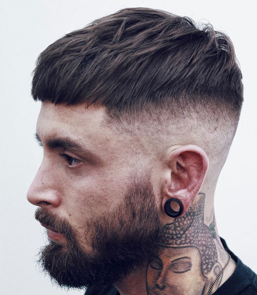 Short-French-Crop-with-High-Bald-Fade
