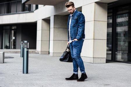 Jeansowa kurtka idealna na wiosnę – łączenie jeansu z jeansem