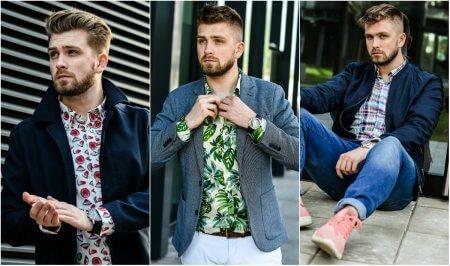 Męskie koszule na lato