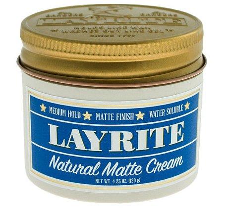 Natural Matt Cream - Layrite 120 g - matowa pomada do włosów