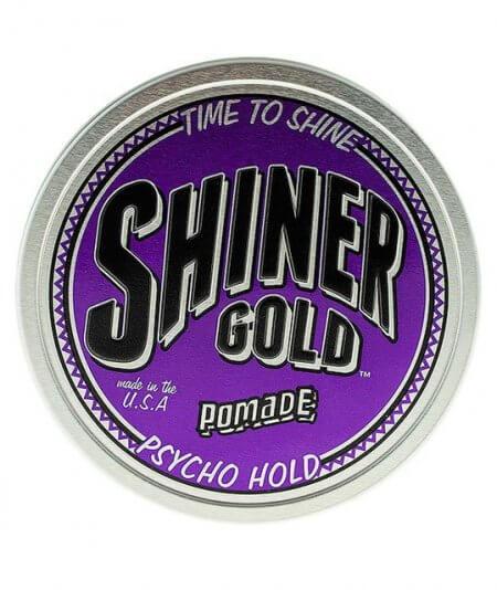 Psycho Hold Pomade - Shiner Gold 113 g - pomada o mocnym chwycie i kokosowym zapachu
