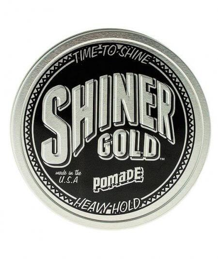 Wodna pomada do włosów Shiner Gold Heavy Hold Pomade