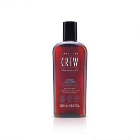 Detox Shampoo - American Crew 250 ml - szampon do włosów oczyszczający z peelingiem