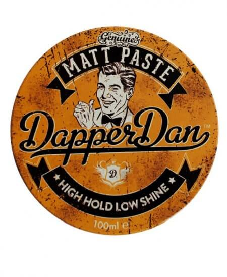 Matt Paste High Hold Low Shine - Dapper Dan 100 ml - matowa pasta mocny chwyt