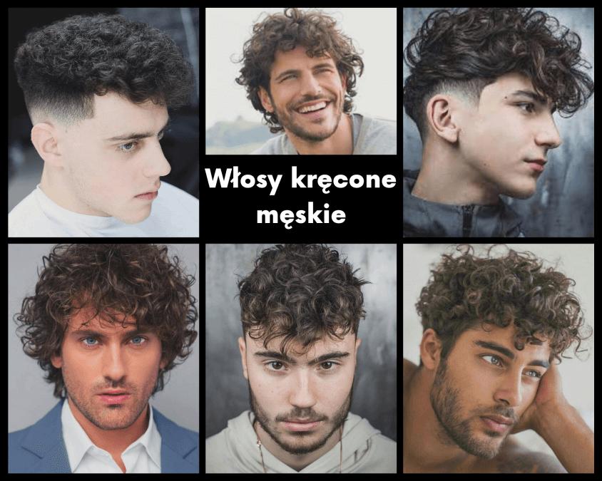 Włosy kręcone męskie
