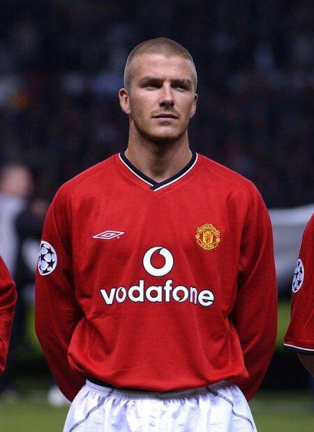 Buzz Cut - David Beckham